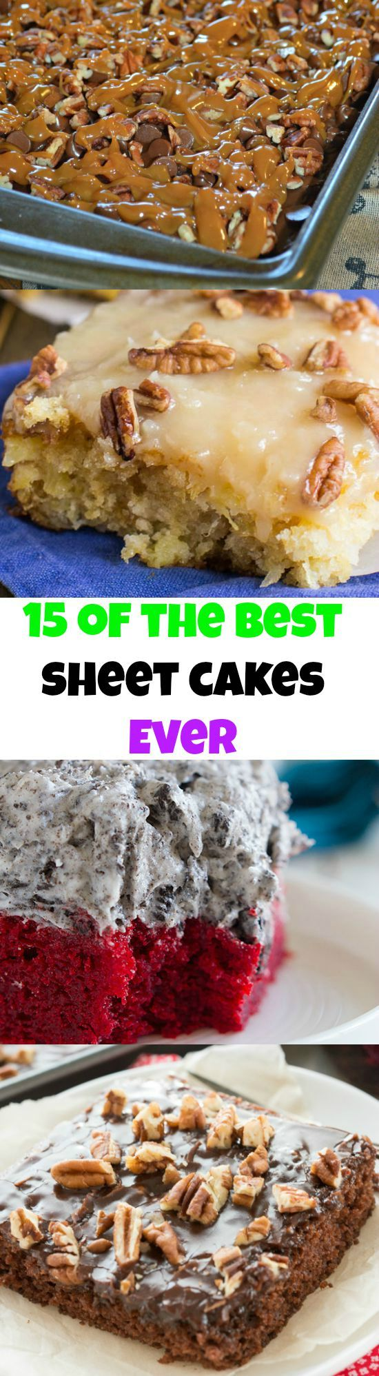 15 Sheet Cakes that are Impossible to Resist! Thanksgiving Dessert    Christmas Dessert