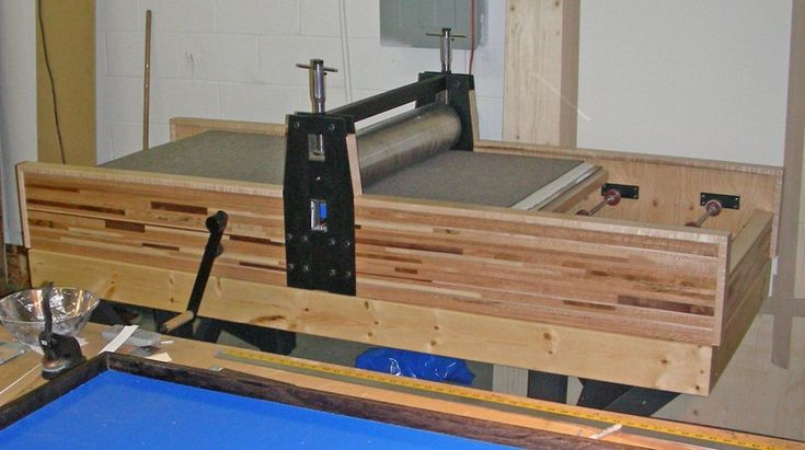Making an Etching Press with Jacob Semko | New Directions in Printmaking