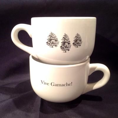 Vive Gamache! mugs from Brome Lake Books / Livres Lac Brome (Louise Penney, Three Pines)