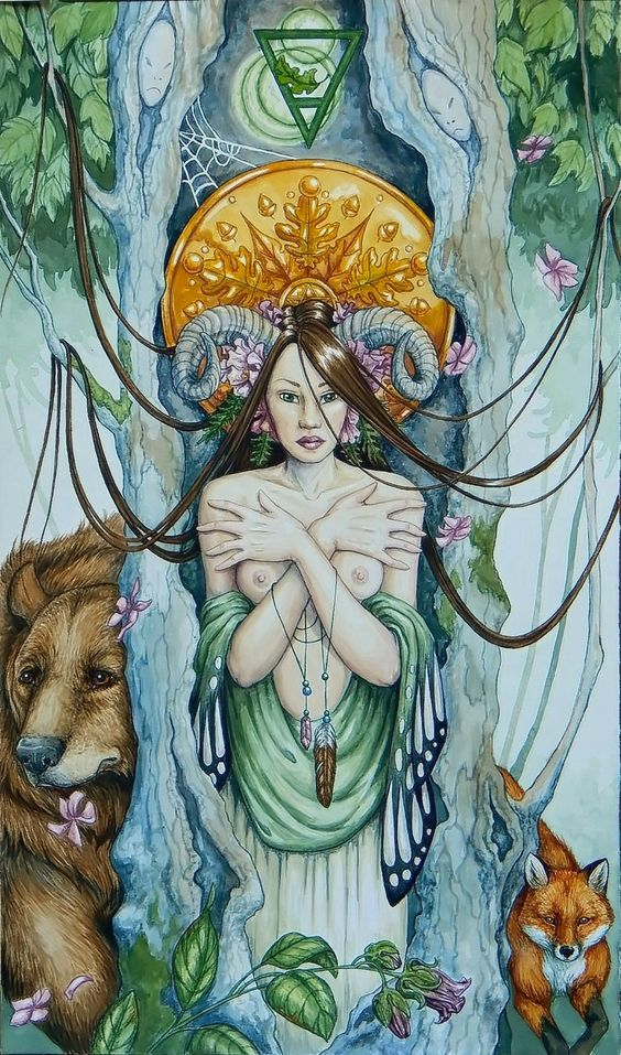 Rainha de Ouros A Rainha de Ouros possui uma característica interessante: ela está associada à fertilidade e às questões materiais e práticas, mas não perde nunca a criatividade e a conexão com a origem da sua essência.