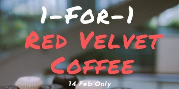 Foreword Coffee Singapore 1 For 1 Red Velvet Coffee Valentine S Day Promotion Only On 14 Feb 2019 Coffee Valentines Red Velvet Valentines
