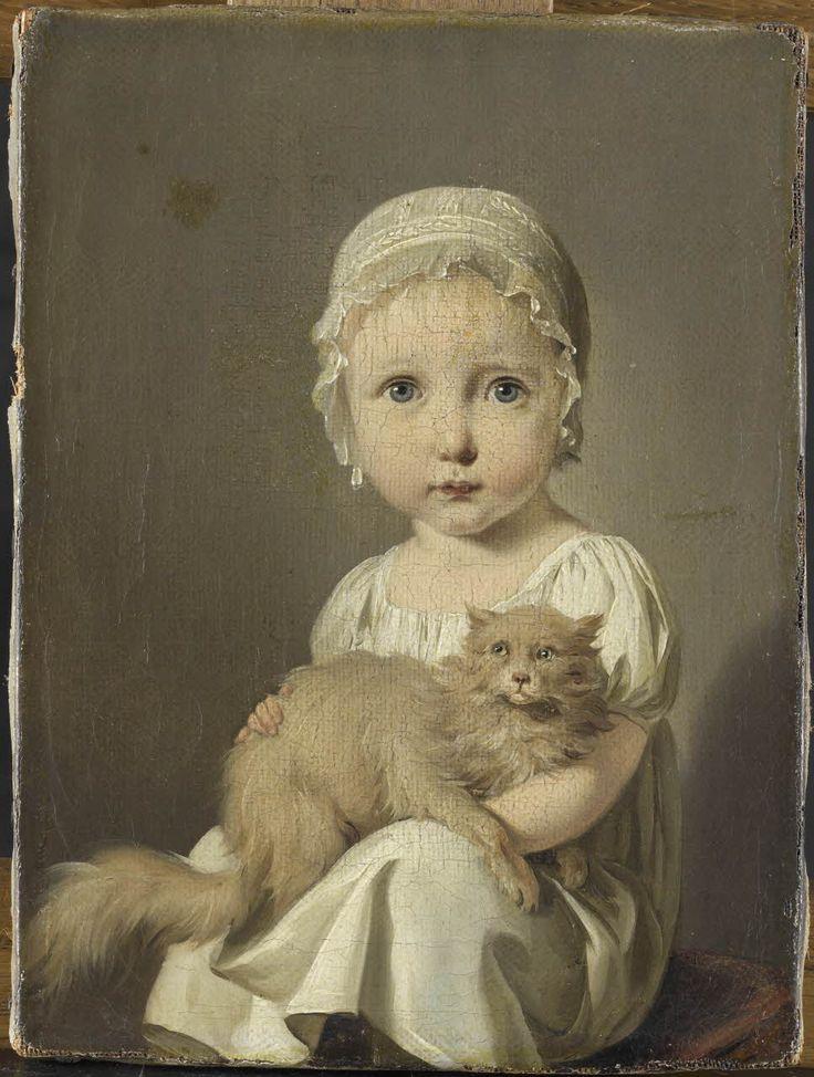 Gabrielle Arnault enfant / Boilly, Louis Léopold / Période contemporaine de 1789 à 1914,18ème - 19ème siècle /  © RMN - Grand Palais (Musée du Louvre) / Adrien Didierjean