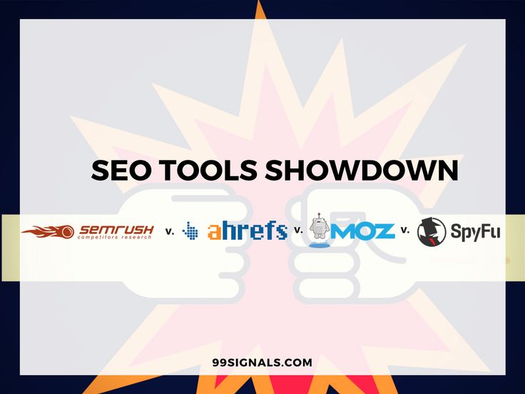 SEO Tools Showdown- SEMrush vs Ahrefs vs Moz Pro vs SpyFu