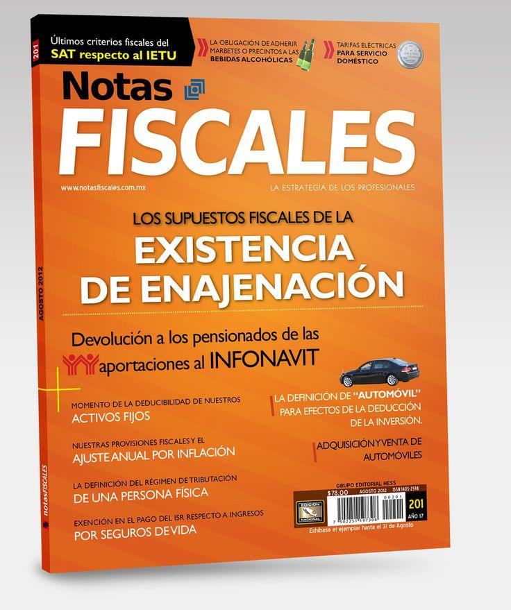 Revista Notas Fiscales #201 Agosto 2012