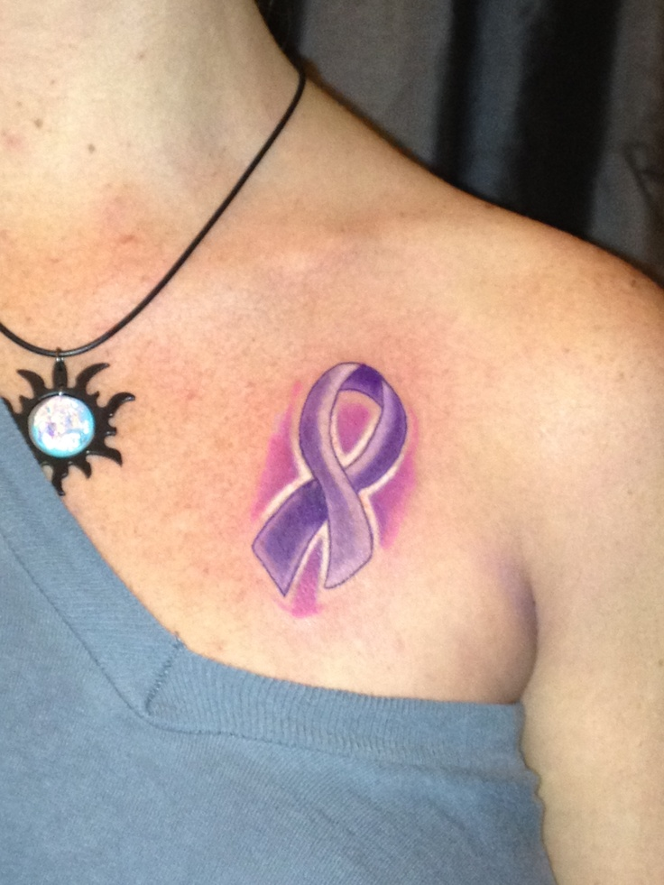 cancer ribbon i like the idea of lavender for quot all