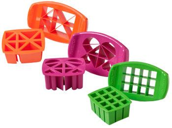 Fun Bites Sandwich Cutters, Hearts, Triangles or Squares