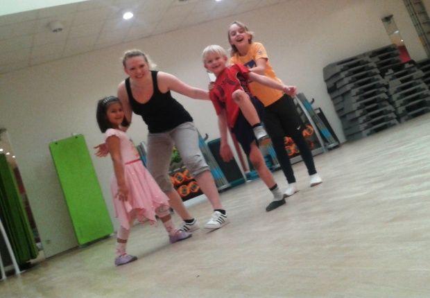 Kinderfitness Moving kids
