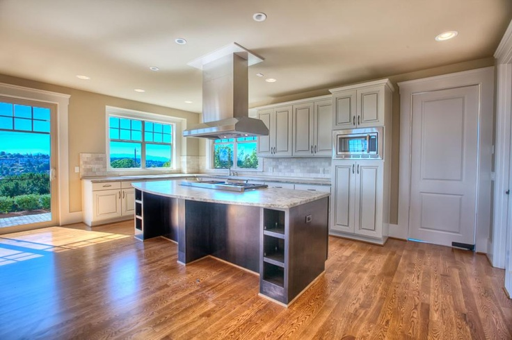 Huge kitchen in this custom home we built.