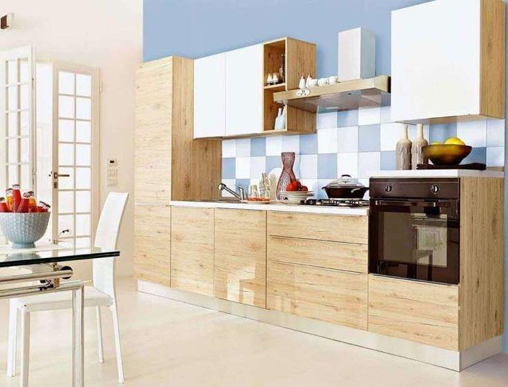 Oltre 1000 idee su cucina in legno su pinterest panche da cucina cucine e tavolo a isola - Cucina legno chiaro ...
