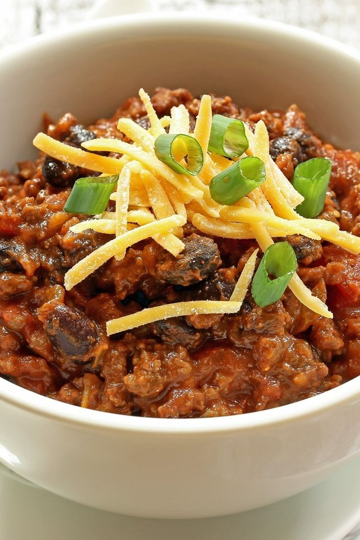 Boilermaker Tailgate Chili Recipe With Ground Beef Italian Sausage Chili Beans Diced Tomatoes Tomat Recipes With Sausage And Bacon Beef Dinner Pork Recipes