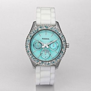 Tiffany blue watch, Fossil                                                                                                                                                     More
