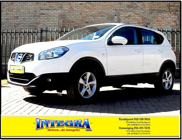 2012 Nissan Qashqai 1.5 dci Acenta for sale, for more info kindly contact Integra Motors.