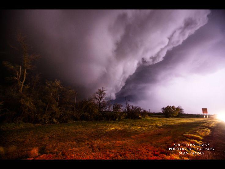 Tornado in Sayre, OK 2015