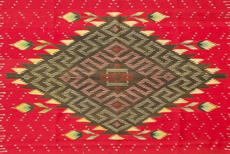 Post Classic 19th Century Mexican Serape | From a unique collection of antique and modern textiles and quilts at http://www.1stdibs.com/furniture/more-furniture-collectibles/textiles-quilts/