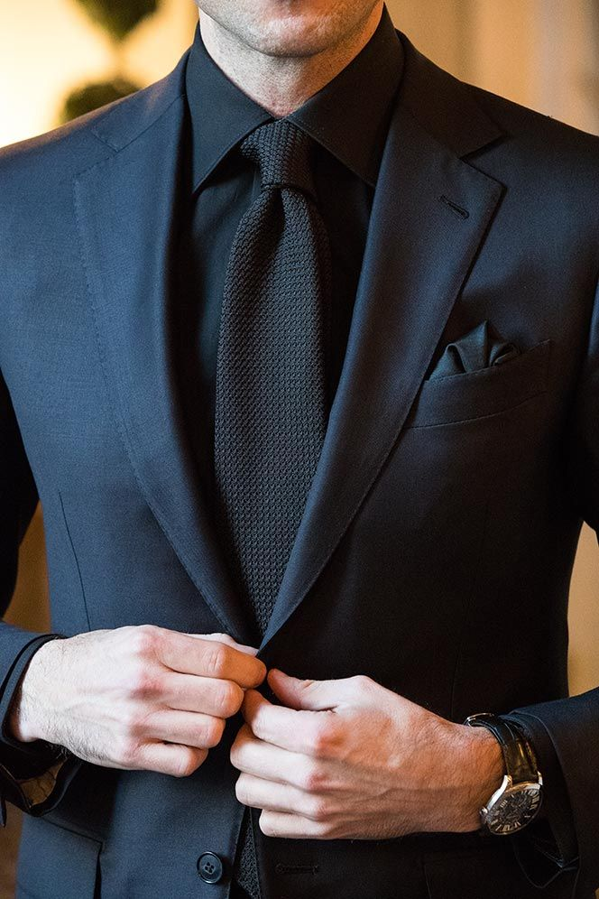 Black tie ethos, tuxedo and bow tie optional While a black tie dress code should