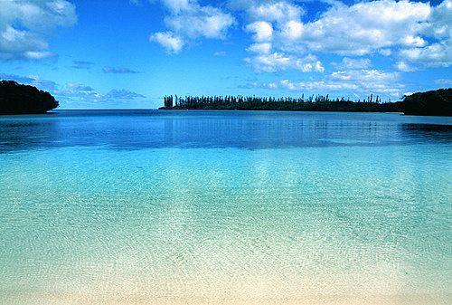 Kanumera Bay, Isle of Pines, New Caledonia.