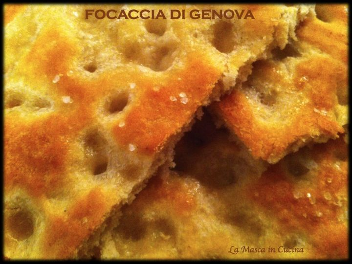 Focaccia di Genova - de Zena