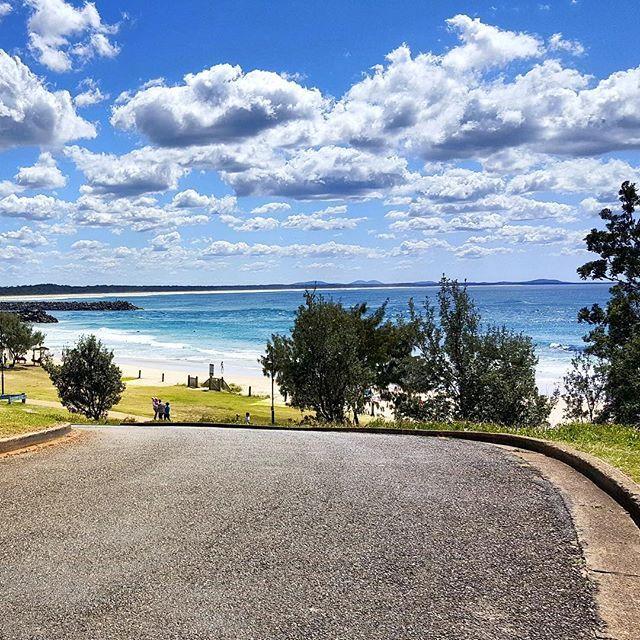 Sunny day Let's enjoy! #australia #sky #skylovers #road #beach #port #tree #sun   www.haisitu.ro