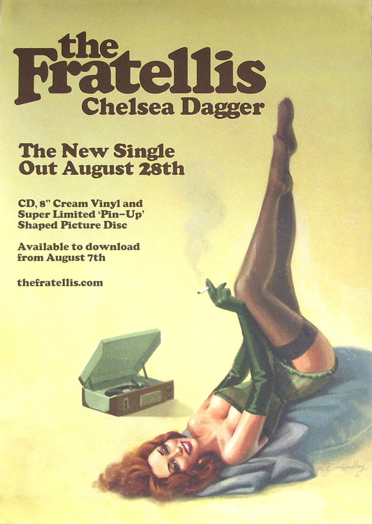 """'The Fratellis' are an indie rock band from Glasgow, Scotland. """"Chelsea Dagger"""" is a single, taken from their debut album 'Costello Music', which was released in 2006. It is supposed to be named after both Jon Fratelli's wife Heather, a burlesque dancer whose stage name – Chelsea – he borrowed for the song. This song was no.77 on Rolling Stone's list of the 100 Best Songs of 2007."""