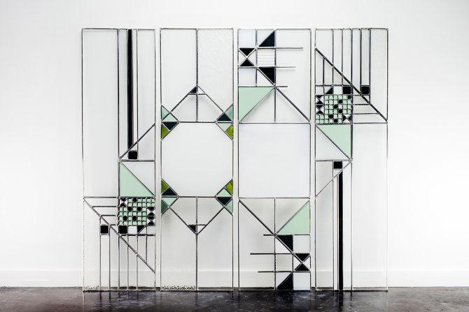 Glasraam op maat ontworpen door Veerle Verschooren Gratis advies bij thuis: mogelijkheden in functie van u, uw interieur en uw budget. Gratis prijsofferte.