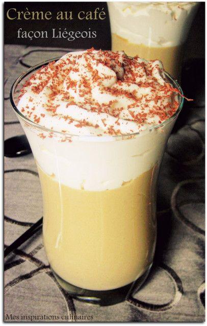 creme dessert au cafe