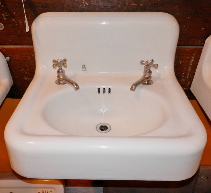 High back wall mount bathroom sink #PB1330