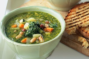 Pistou Soup - perfect for a chilly winter night.