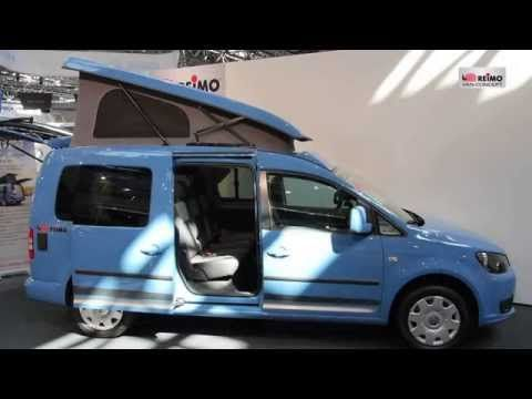 VW Caddy Camp Maxi Minicamper - compact Camper for 3 people - YouTube