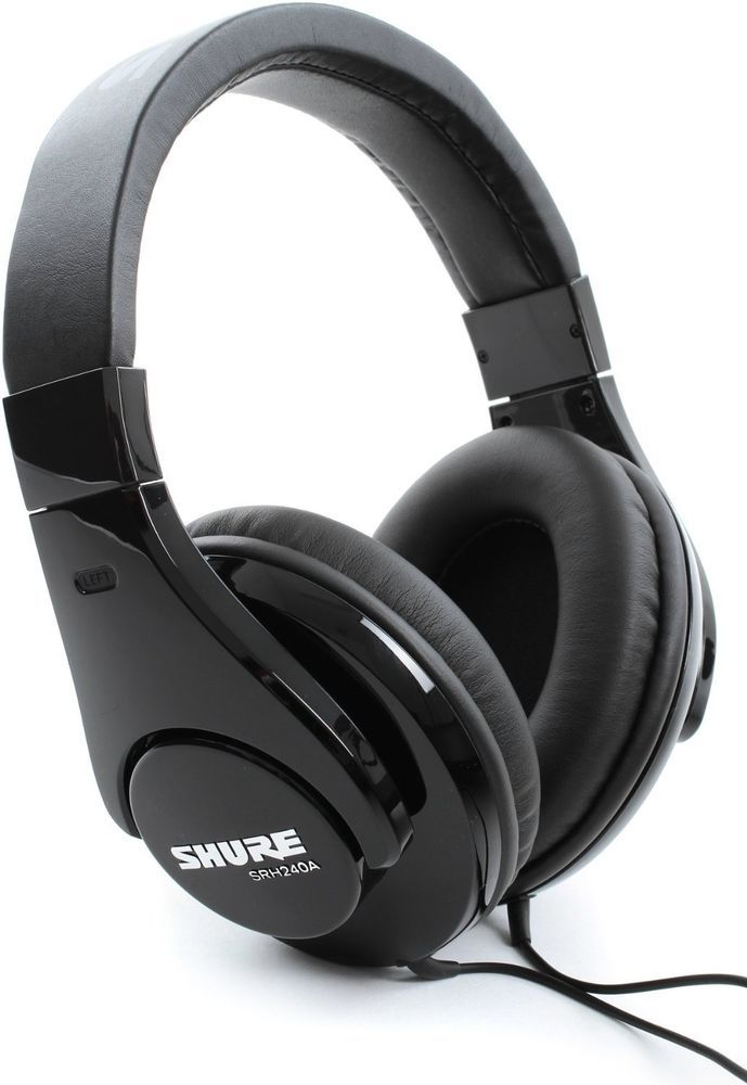 SHURE SRH240A Circumaural headphones di guarantee quality. 24 months in Electronics, Portable Audio & Headphones, Headphones | eBay!