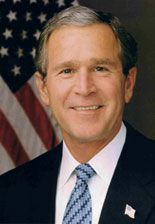 George Walker Bush - 43rd President of the United States (2001–2009) Republican ~ ~ We have seen the state of our Union in the endurance of rescuers, working past exhaustion. We have seen the unfurling of flags, the lighting of candles, the giving of blood, the saying of prayers—in English, Hebrew, and Arabic. We have seen the decency of a loving and giving people who have made the grief of strangers their own. September 20, 2001