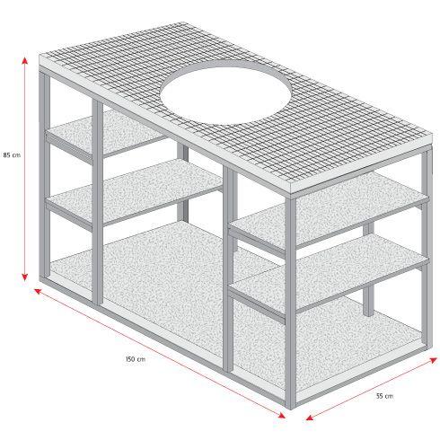 En este proyecto construiremos un mueble para el lavaplatos, pero no el tradicional con melamina, sino un diseño distinto con fierro y OSB, que tiene la ventaja de ser más liviano visualmente y muy fácil de construir.
