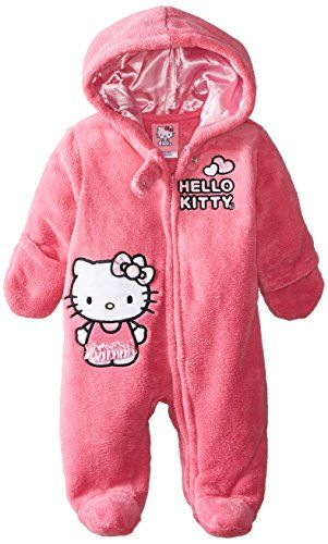 Hello Kitty Baby-Girls Newborn Pink Thrill Hooded Pram, Pink, 3 Months Hello Kitty http://www.amazon.com/dp/B00KOO241A/ref=cm_sw_r_pi_dp_UP-Bvb1BFXMP7