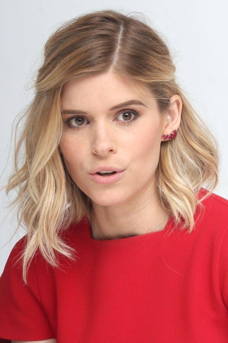 11 Hübsche mittellange Frisuren für Frauen  Wellige frisuren