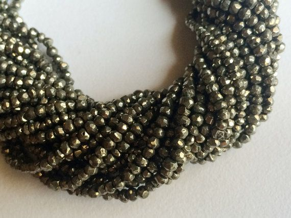 5 Strands WHOLESALE Gold Spinel Mystic Coated by gemsforjewels