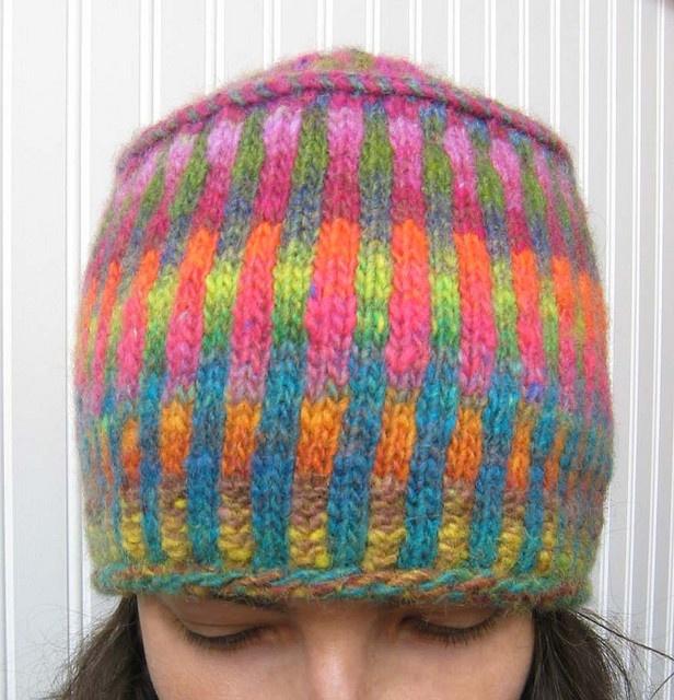 6e6ca470d5398 Brand New Corrugated Pillbox Hat pattern by Ellen Rodgers   Knitting -