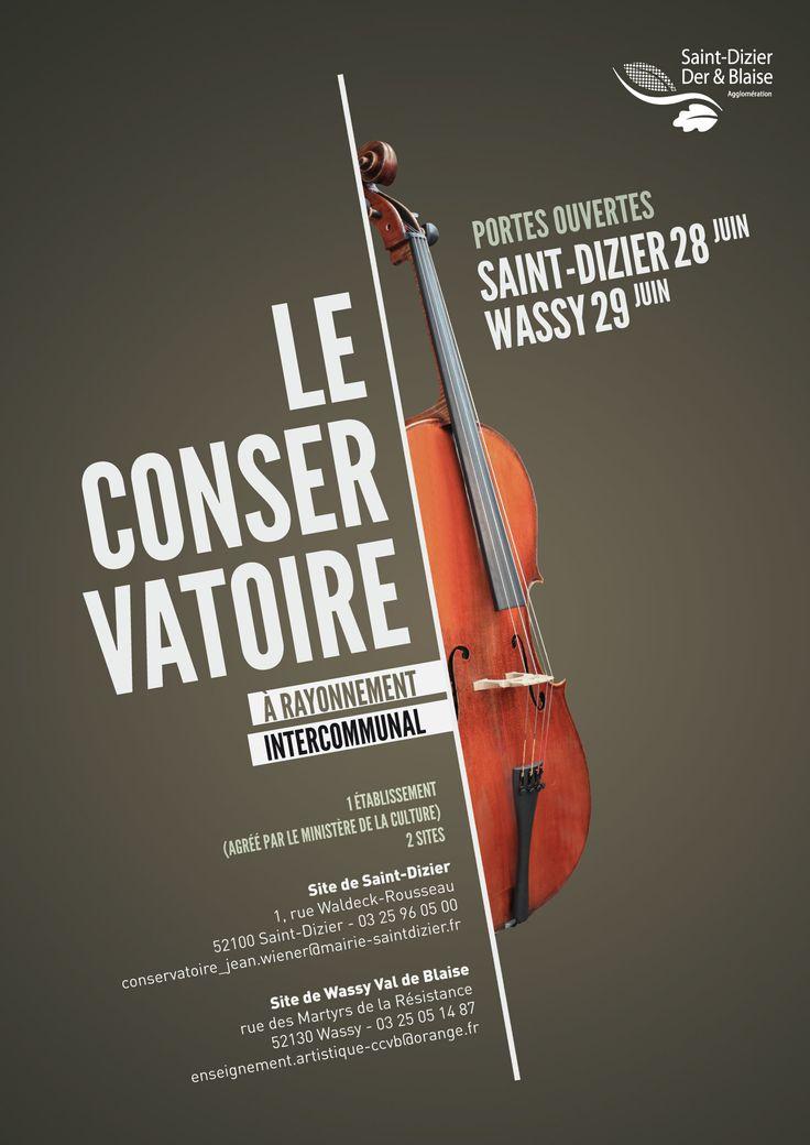 Journées portes ouvertes au conservatoire à rayonnement intercommunal de la Communauté d'agglomération Saint-Dizier, Der & Blaise. Le 28 juin 2014 à Saint-Dizier et le 29 juin 2014 à Wassy.