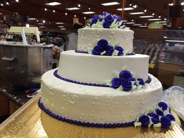 Cake Designs At Wegmans : Wedding cake from wegmans Tier Cakes And More, for that ...