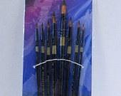 Paint Brush Set of 8 -Round brushes
