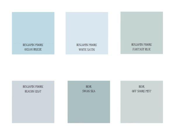 Wandfarbe Taubenblau   Wandgestaltung Ideen Mit Blauen Farbtönen