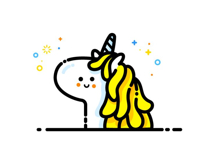 Unicorn by MBE #Design Popular #Dribbble #shots