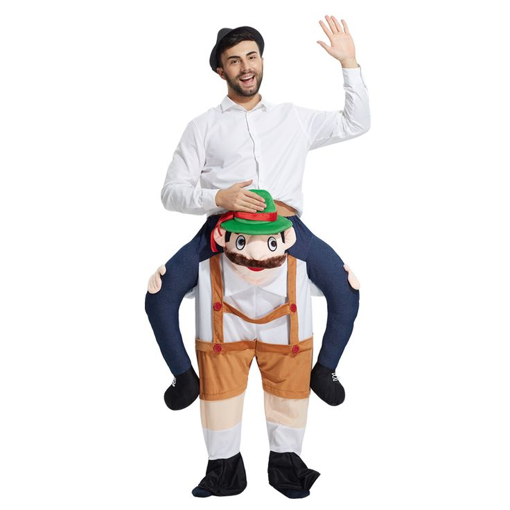 >> Click to Buy << 2017 Ride On dwarf men carry Me Mascot Carry Me Beer people Piggy Back Novelty Fancy Dress Costume for Purim Party  #Affiliate