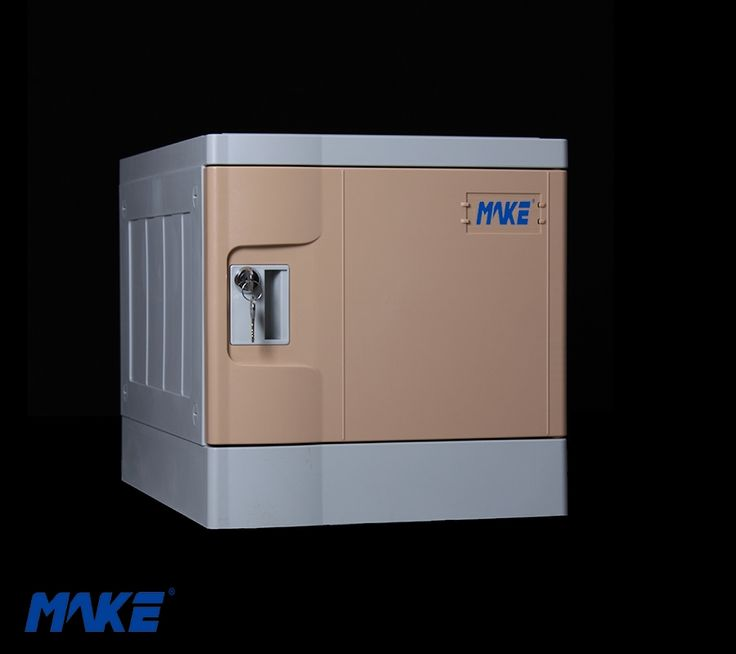 Name: Mini Plastic Locker/ ABS Locker Materials: Engineering ABS plastic , Recyclable,Eco-friendly Dimension 390mm(H)* 382mm(W)* 500mm(D) Features 1. Dismountable 2. Sturdy/ Stackable/ Scratch resistant finish (3 S traits) 3. Anti-corrosion / anti-dust/ washed Inside: Adjustable shelves Patented Designs: Nylon Hinge structure Mortise and tenon joint No need screw for installing http://www.makelocker.com/plmn.php
