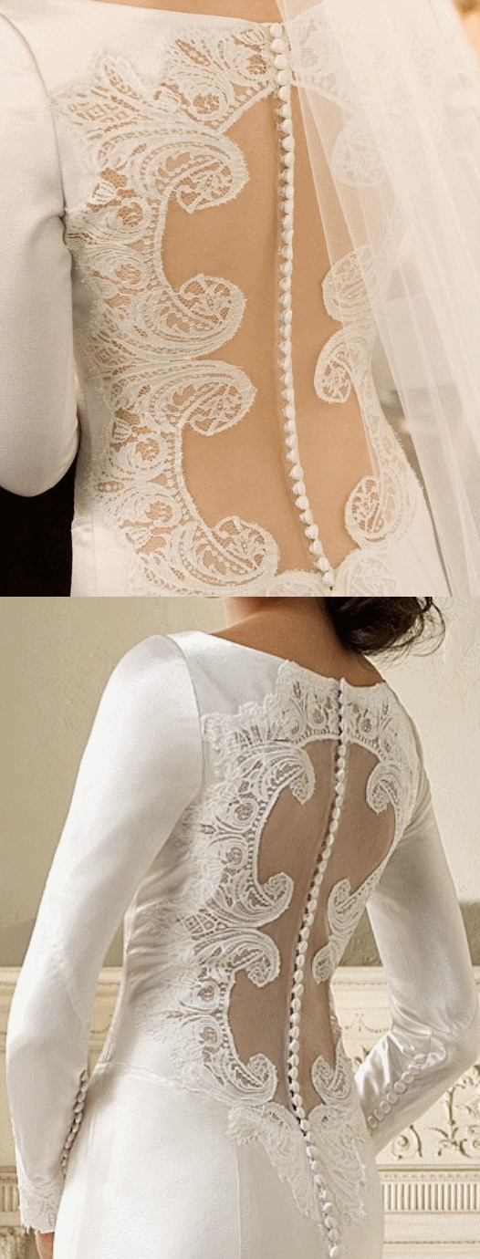 Twilight Wedding Dress - Oh! The detailing! ♥