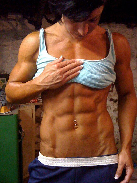 Sexy women with abs