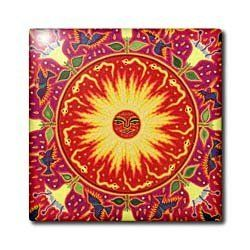 "Folk Art, Huichol art, Santa Fe, New Mexico - US32 JMR1119 - Julien McRoberts - 12 Inch Ceramic Tile by 3dRose. $22.99. Construction grade. Floor installation not recommended.. Clean with mild detergent. Image applied to the top surface. High gloss finish. Dimensions: 12"" H x 12"" W x 1/4"" D. Folk Art, Huichol art, Santa Fe, New Mexico - US32 JMR1119 - Julien McRoberts Tile is great for a backsplash, countertop or as an accent. This commercial quality construction grade tile has a..."