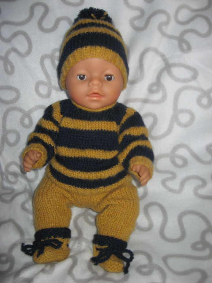New outfit for Baby Born