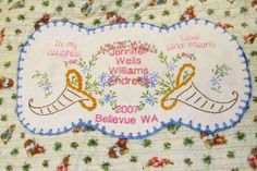 Nancy Zieman's How do you label quilts? | Sewing With Nancy | Personalized Quilt Labels | Printed Quilt Labels | Machine Embroidery