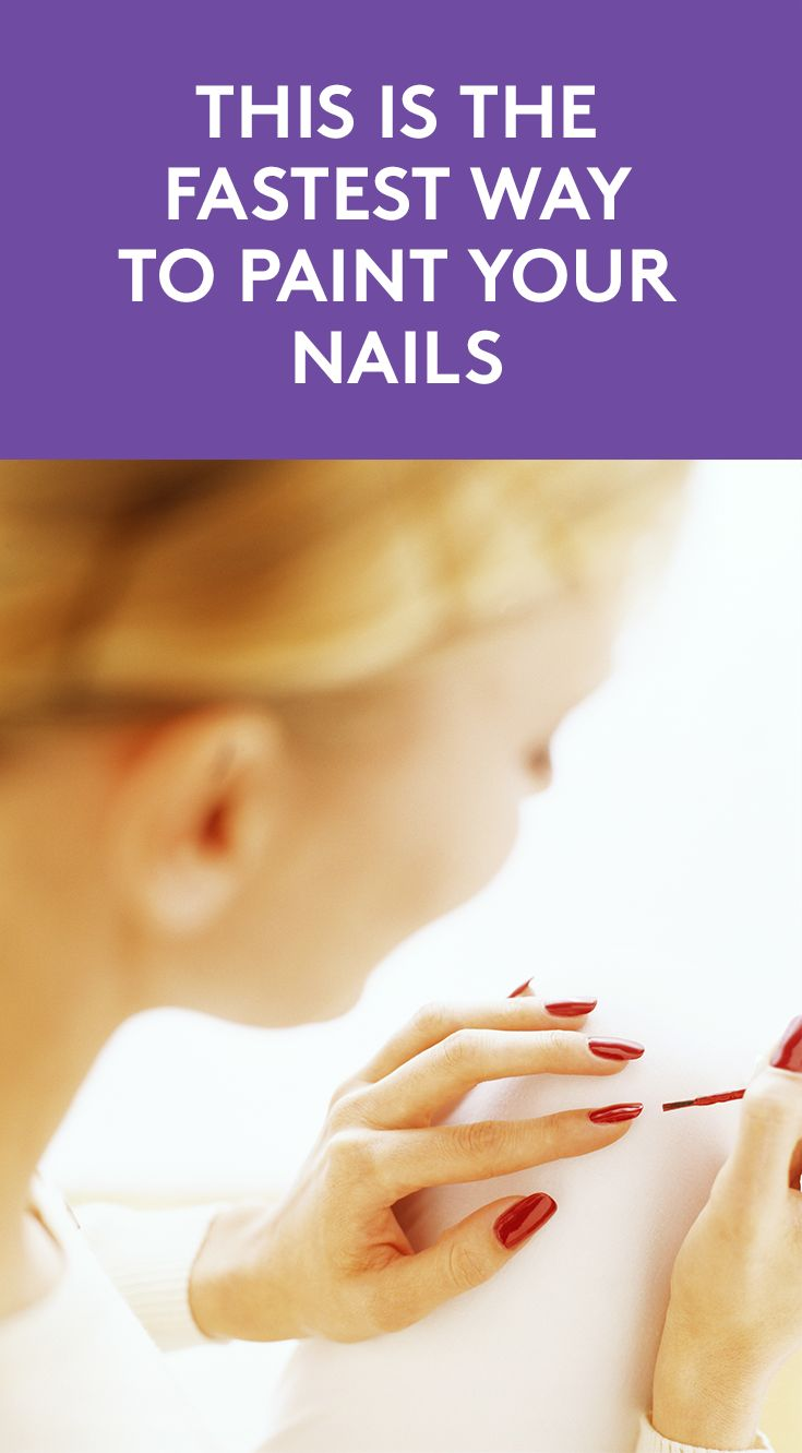 This is The Fastest Way to Paint Your Nails | DIY manicures require time, patience, and the kind of precision only those who are ambidextrous possess—until now. Enter British nail brand Nails Inc. and their latest beauty lifesaver—spray on nail polish. You're welcome.