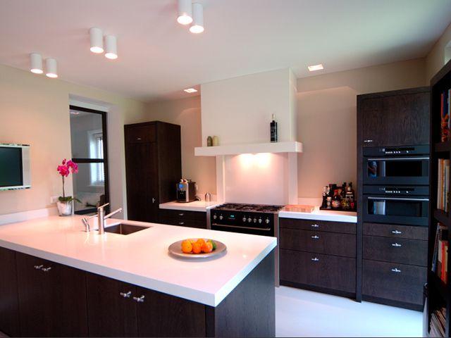 Jvd keukens moderne eiken fineer keuken jvd maatwerk keukens pinterest kitchens and room for Deco moderne keuken