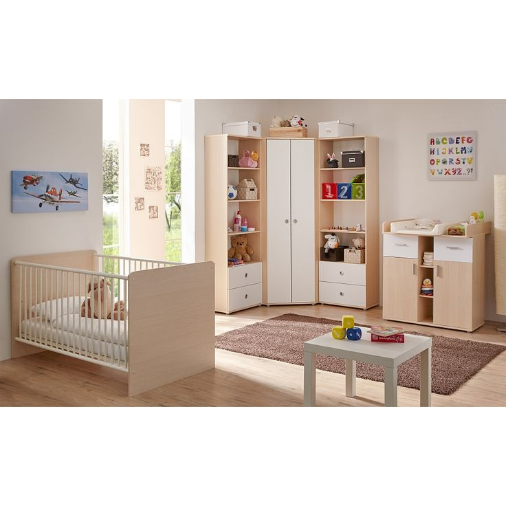 Superb Das teilige Babyzimmer Wicky von TICAA beeindruckt mit einer kindgerechten Optik Das ahornfarbene